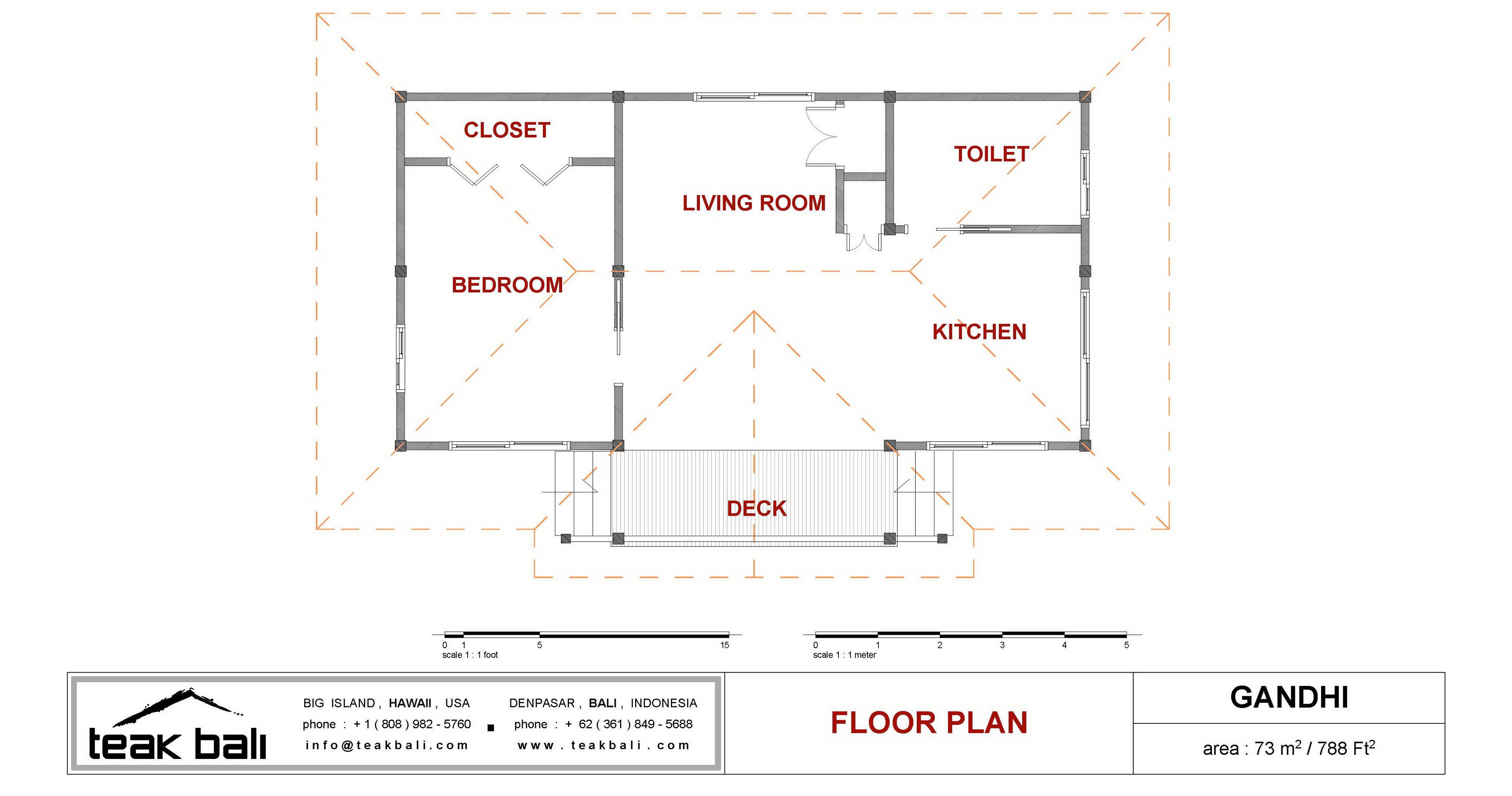 1 bedroom floor plans